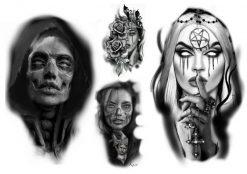 Köp gnuggisar & fake tatueringar flash 1 av Kain - Like ink
