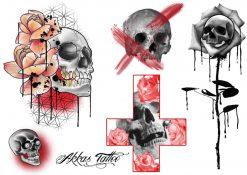 Köp gnuggisar & fake tatueringar flash 2 av Annica - Like ink