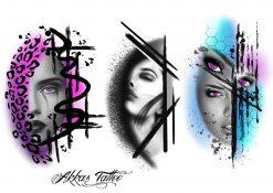 Köp fake tatueringar flash 2 av Annica - Like ink