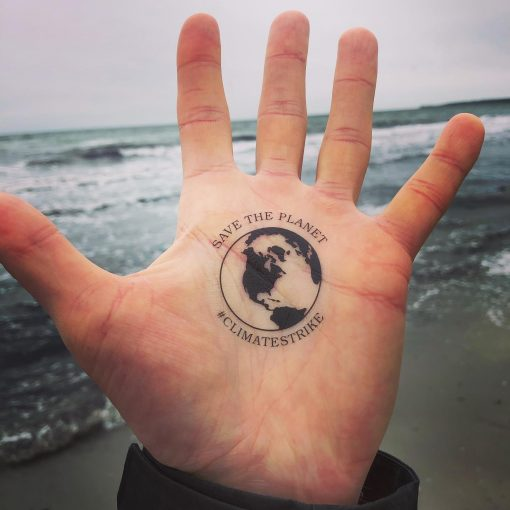 Save the Planet tattoo