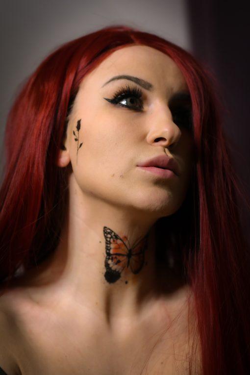 Tatuering Fjäril