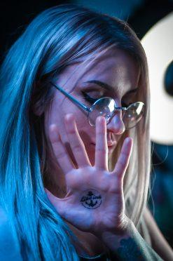 Tatuering handflata