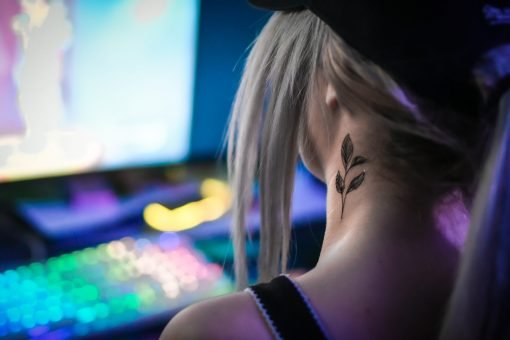 Tatuering Blad