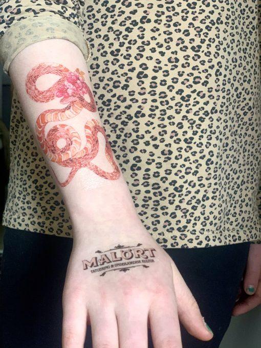 Malört Tatuering Design